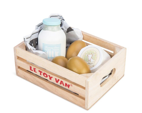 Cheese and Dairy Crate